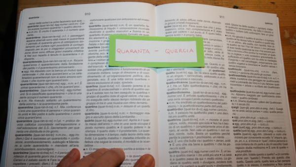 uso del dizionario 4