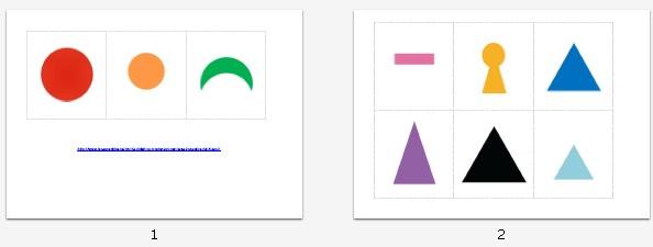 Simboli grammaticali Montessori e definizioni: materiale stampabile per il PRIMO LIVELLO