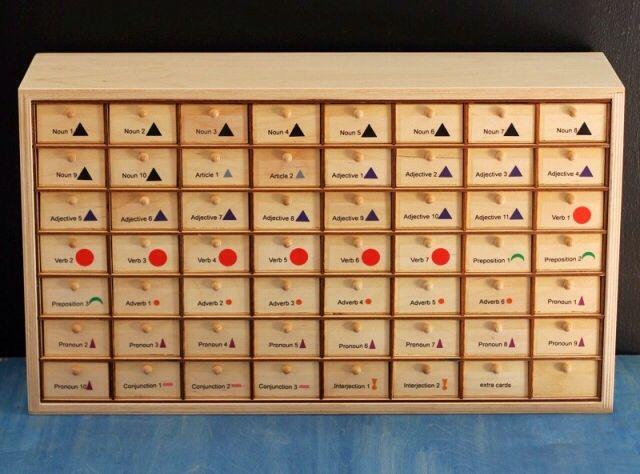 casellario simboli Montessori 2