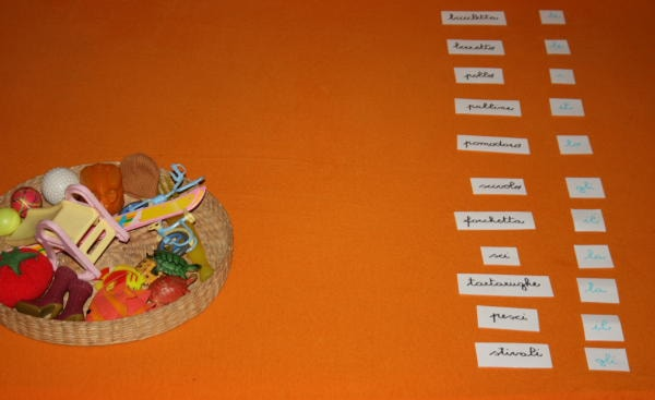 parti del discorso Montessori 5-min