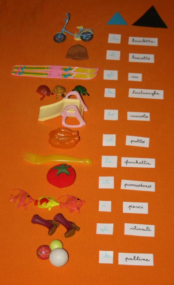 parti del discorso Montessori 7-min
