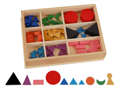 Psicogrammatica Montessori l'inventario di classe per l'aggettivo
