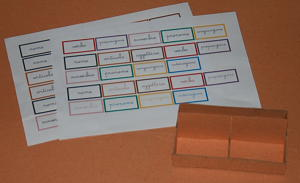 scatole grammaticali DIY 13