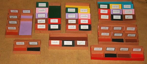 Tutorial per costruire le scatole grammaticali Montessori