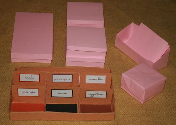 scatole grammaticali DIY 50
