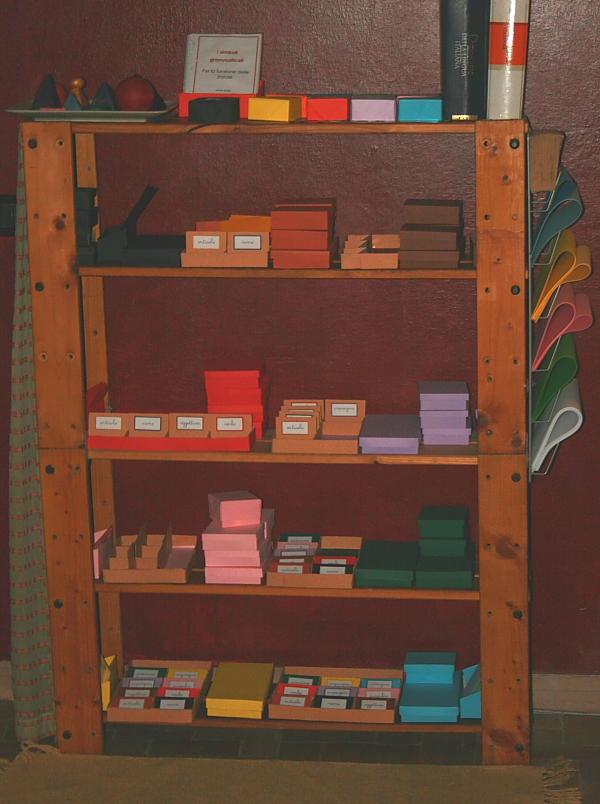 Le scatole grammaticali Montessori