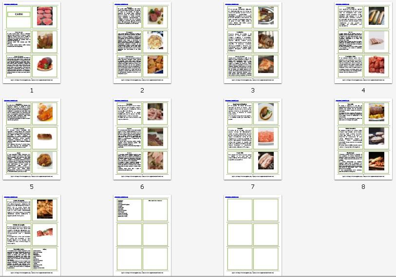 Nomenclature Montessori LE CARNI disponibili nella versione per bambini dal 3 ai 6 anni, e per bambini dai 6 ai 9, con libretto di accompagnamento, scaricabili e stampabili in formato pdf.