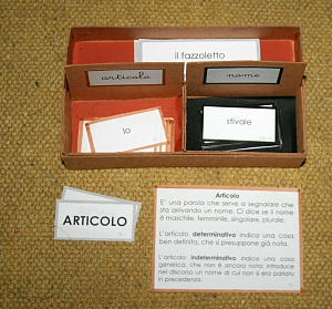 scatola grammaticale I 6