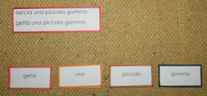 scatola grammaticale III 5