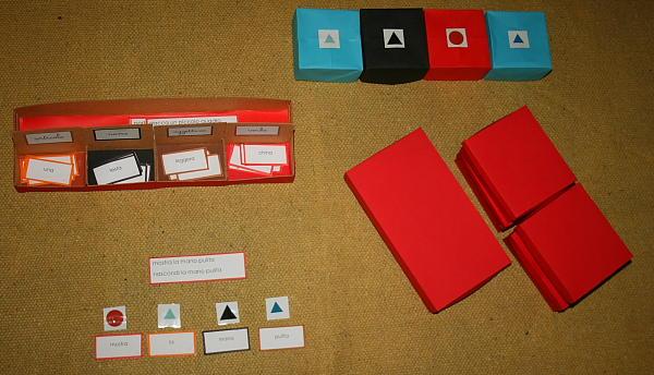 scatola grammaticale III 6