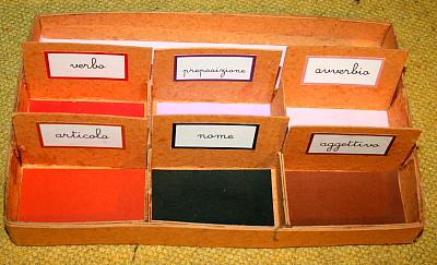 scatola grammaticale V 1