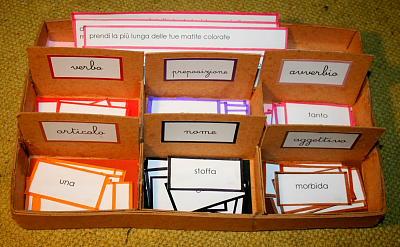 scatola grammaticale V 2