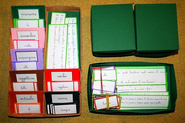scatola grammaticale VI 3