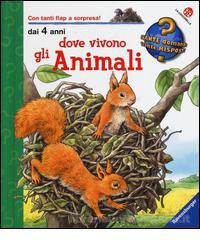 Psicogrammatica montessori dove vivono gli animali for Dove vive la volpe