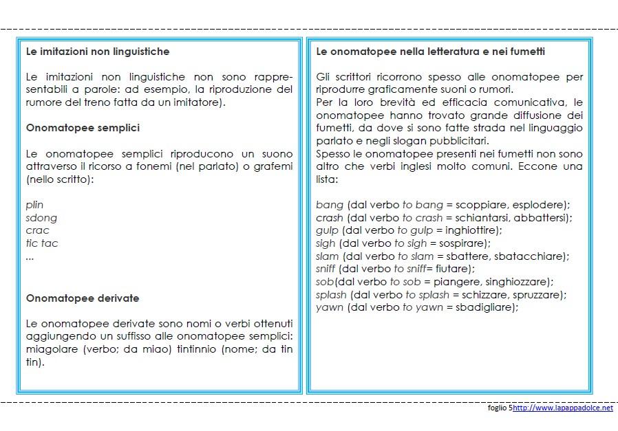 libro delle regole INTERIEZIONE 28