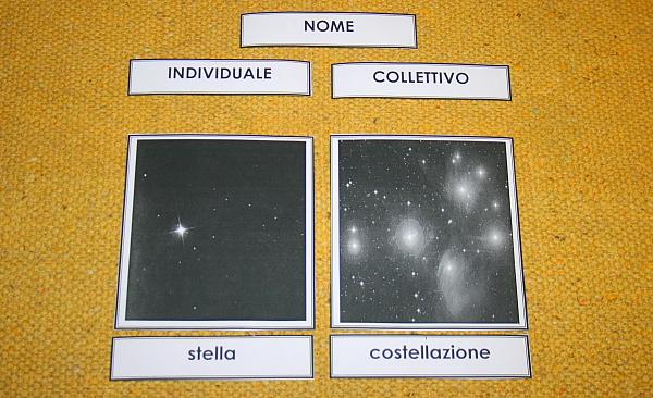 Psicogrammatica Montessori: i nomi collettivi