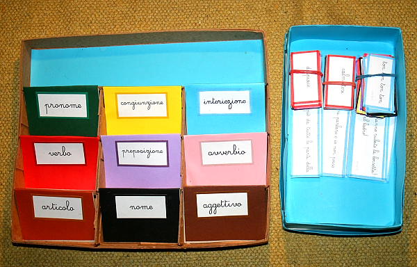 scatola grammaticale VIII 1