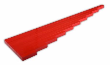 aste della lunghezza Montessori