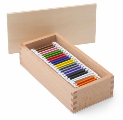 spolette dei colori Montessori serie 2