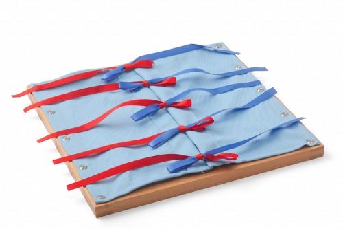 telaio delle allacciature con nastri