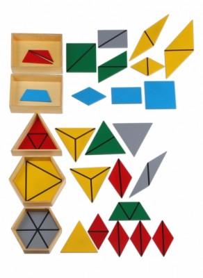 triangoli costruttori Montessori