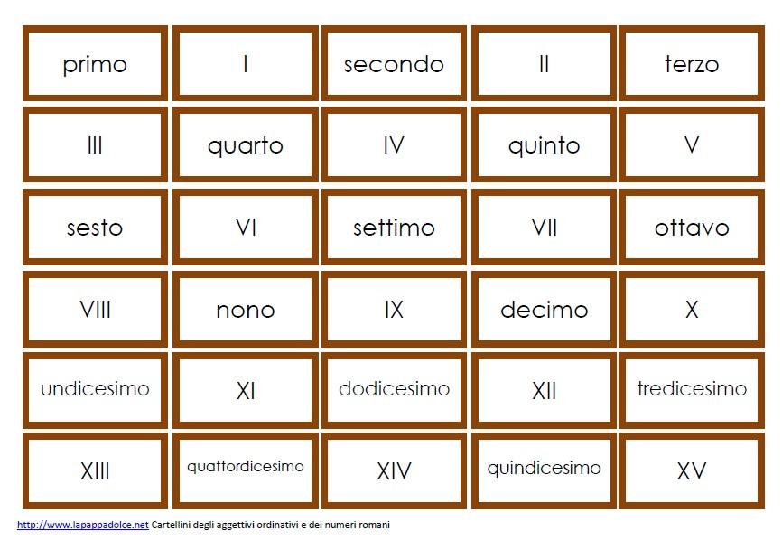 Cartellini degli aggettivi quantitativi STAMPATO MINUSCOLO 7