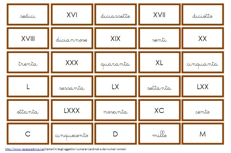 Souvent Psicogrammatica Montessori: aggettivi quantitativi - CF43