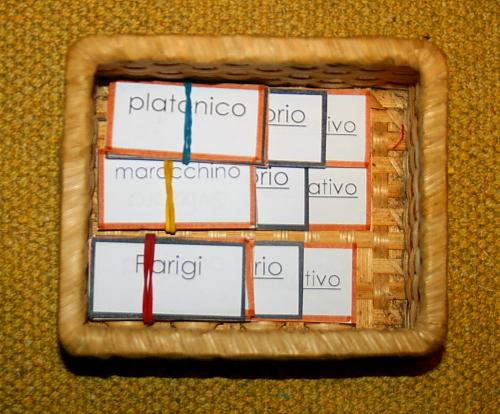 aggettivo Montessori 9