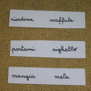 funzione articoli Montessori 1