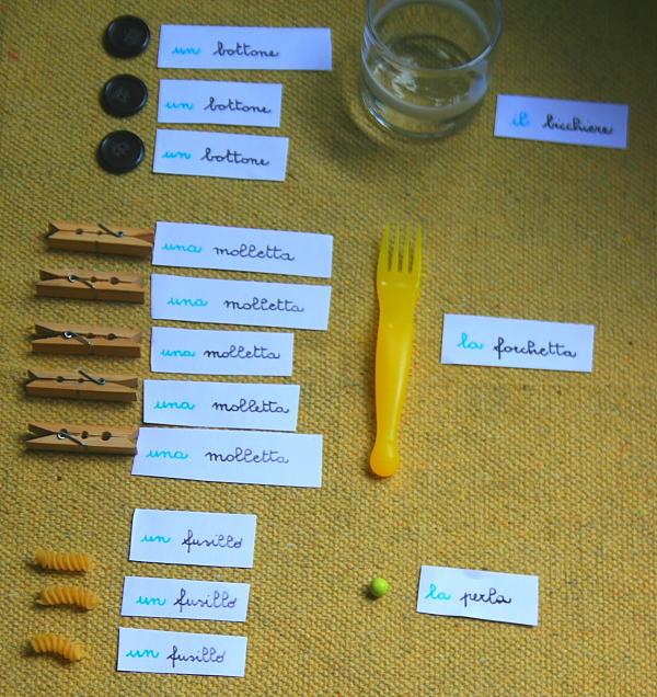 funzione articoli Montessori 6