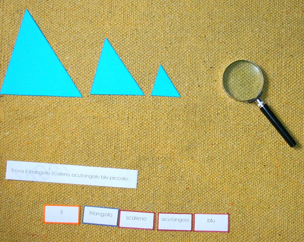 gioco del detective Montessori 25