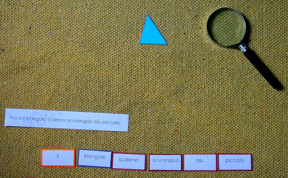 gioco del detective Montessori 26