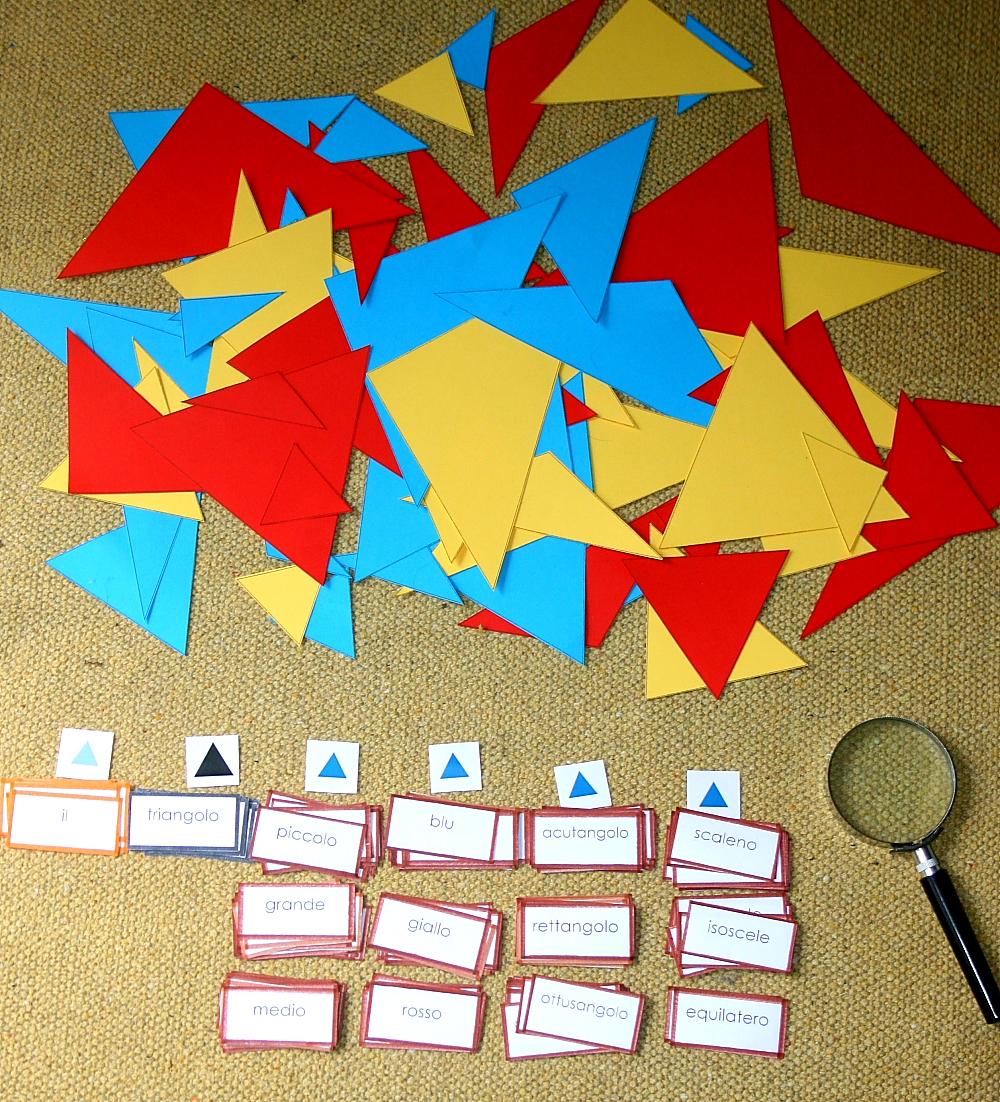 gioco del detective Montessori 30