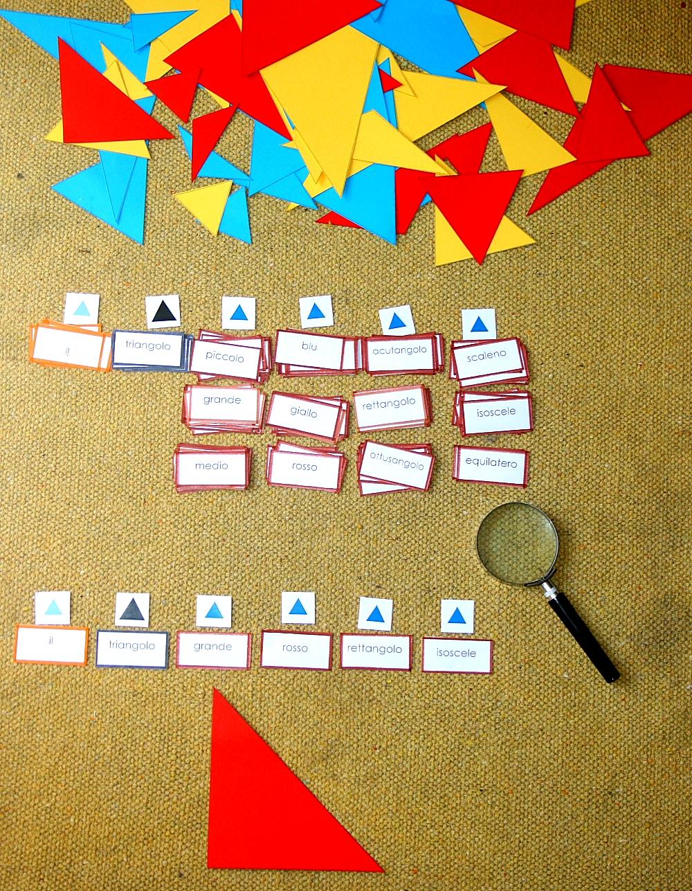 gioco del detective Montessori 31