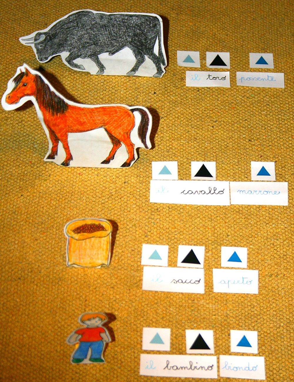 psico grammatica Montessori 7