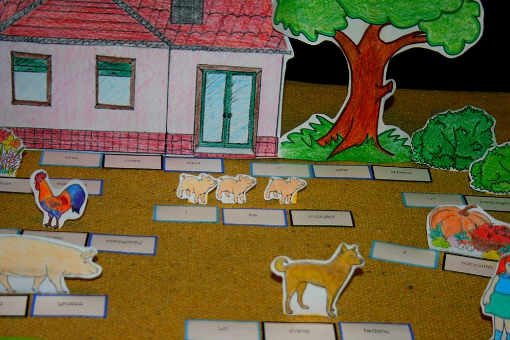 psico grammatica Montessori 8