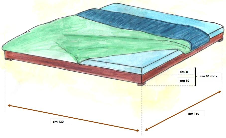 misure del letto