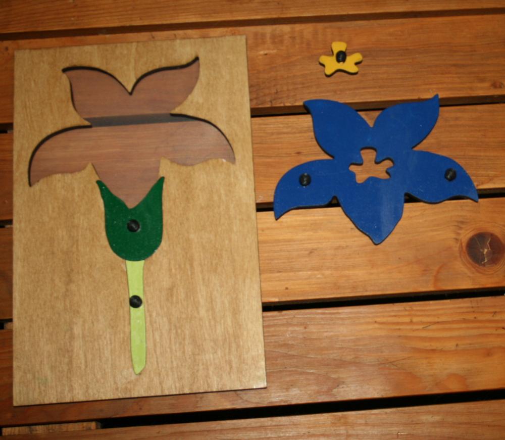 incastro del fiore Montessori 3