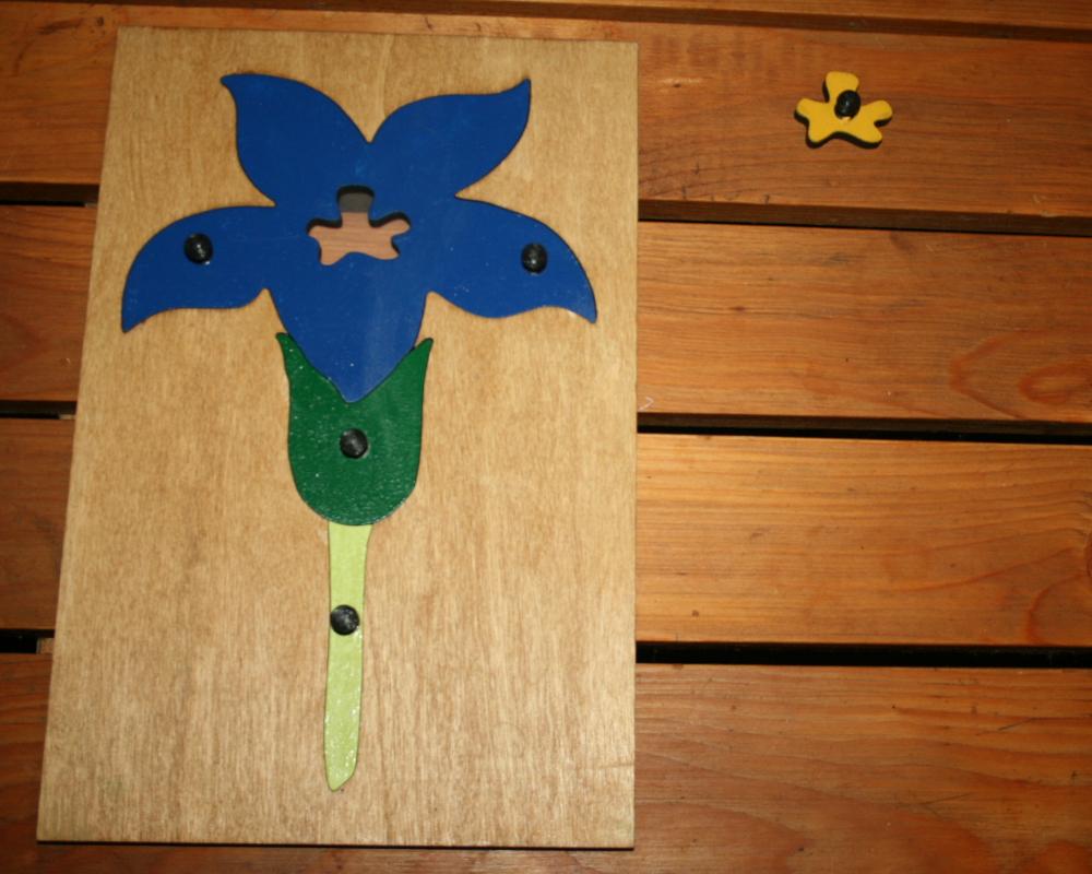 incastro del fiore Montessori 8