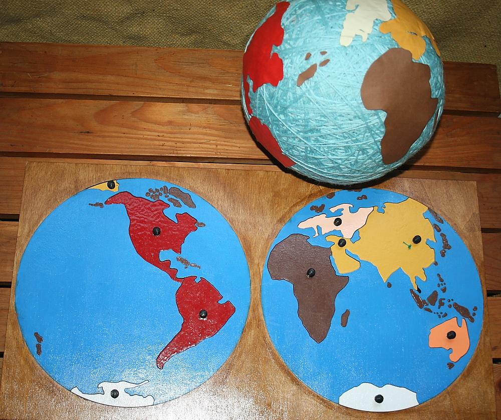 Mappa di Atlante del mondo di bambini palla palla gonfiabile globo terrestr WQQ