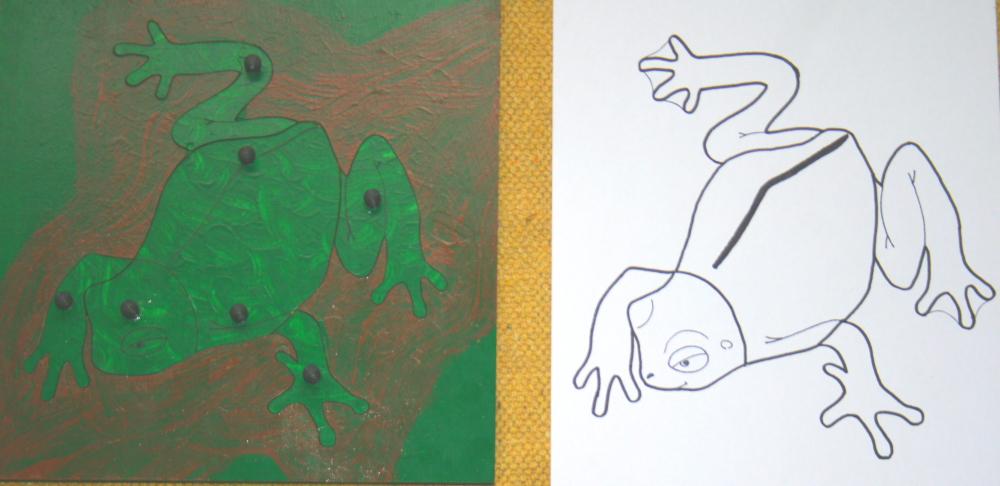 incastro della rana 5