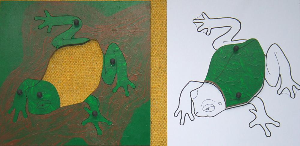 incastro della rana 6