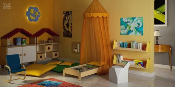 lettino Montessori 125