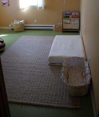 lettino Montessori 86