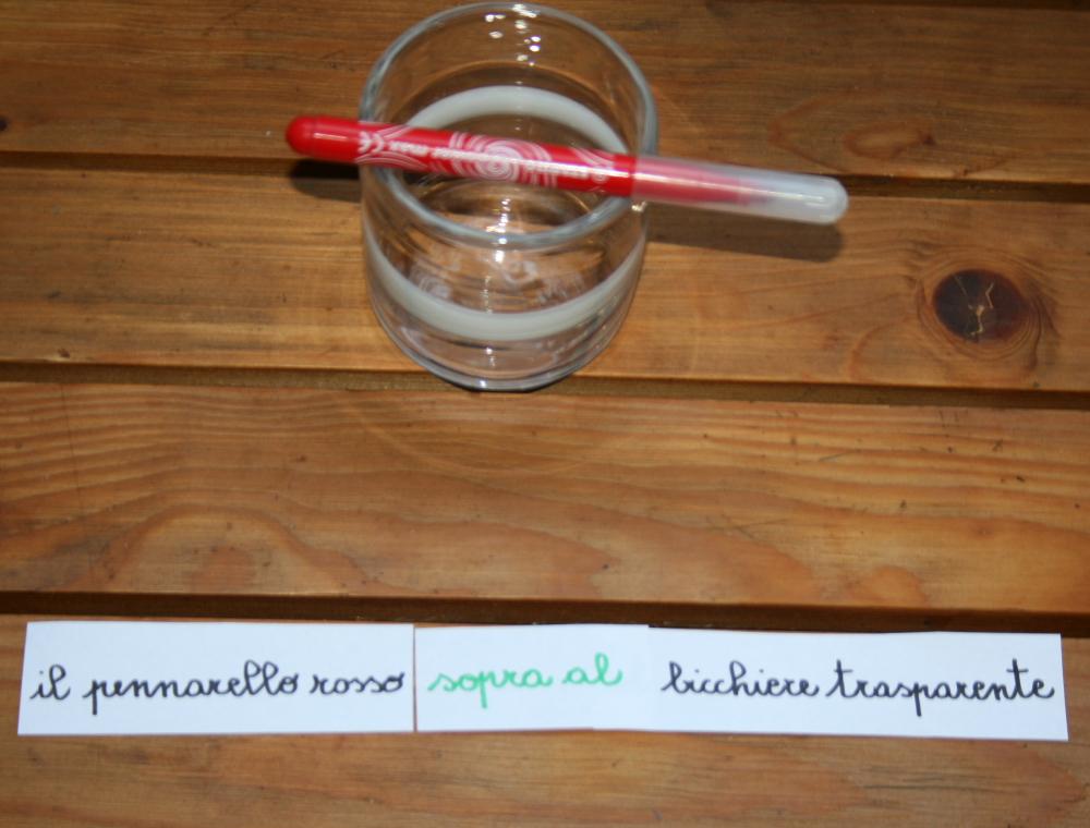 preposizioni Montessori 2