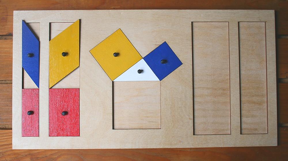 teorema Pitagora Montessori 10