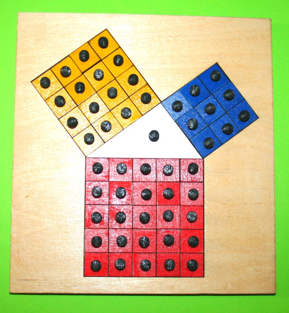 teorema Pitagora Montessori 13