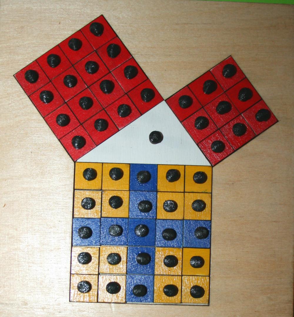 teorema Pitagora Montessori 16