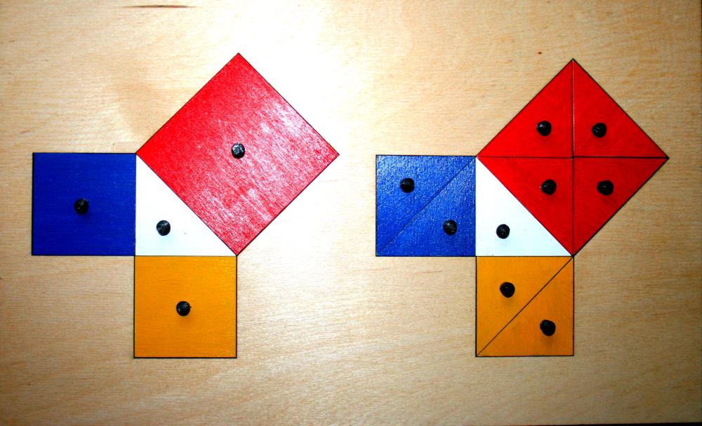 teorema Pitagora Montessori 27