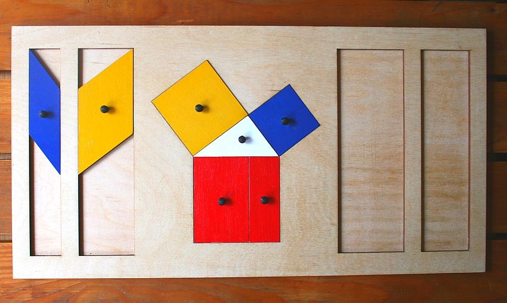 teorema Pitagora Montessori 4